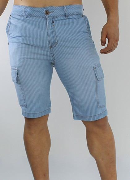 BERMUDA CONFORT DENIM