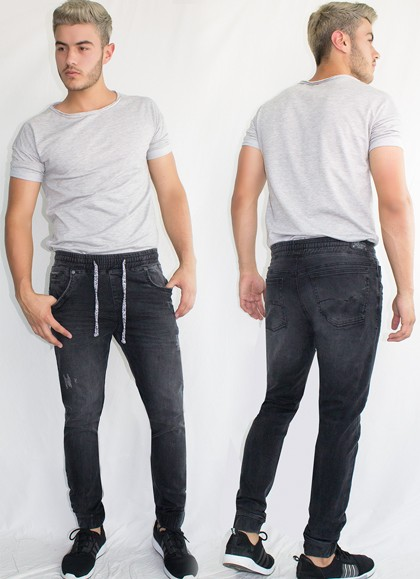 Jogger Denim Black