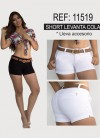 SHORT CARTA COLOR TELA LIVIANA