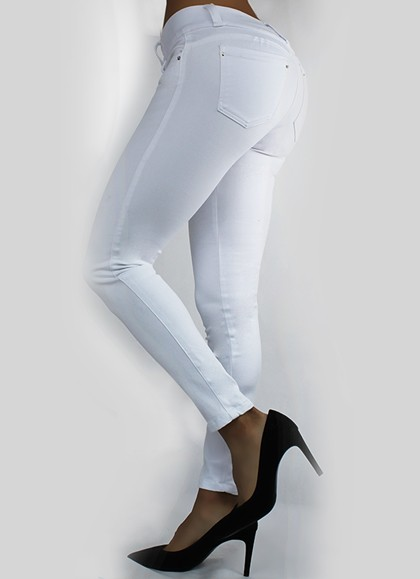 PANTALON CARTA COLOR LYCRA
