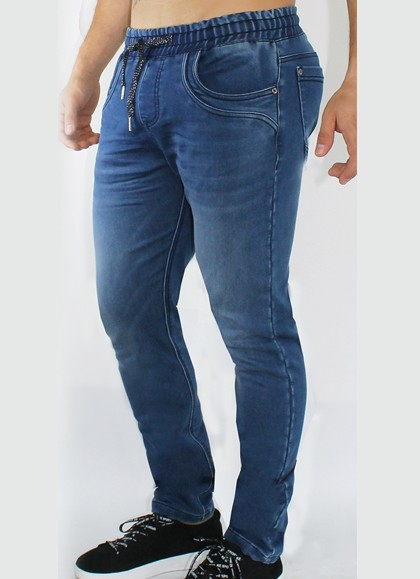 PANTALON CONFORT DENIM